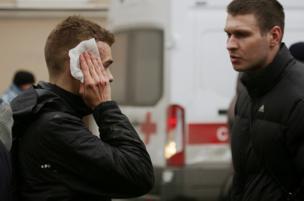 सेंट पीटर्सबर्ग मेट्रो में धमाका