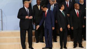 Endonezya Devlet Başkanı Joko Widodo, ABD Başkanı Donald Trump ile