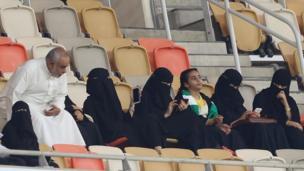 Mata sun fara shiga filayen wasanni a Saudiyya