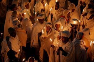 حجاج إثيوبيا