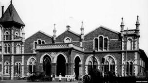 4. Historic ChurchGate station turns 148, on Wednesday. Churchgate station was opened on January 10, 1870 dealing with 5 trains daily in each direction. Churchgate station building in Swiss chalet style was completed in 1876 and was renovated in December 1926 for electric train services