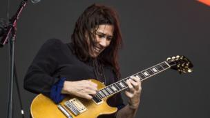 Kim Deal from the band The Breeders