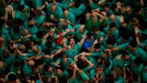 """Kooxda """"Castellers de Villafranca"""" ayaa ku guulaystay tartanka oo la qabtay Sabtidii iyo Axadii."""