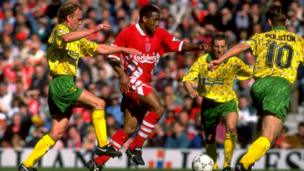 John-Barnes-surrounded-by-Norwich-players-in-a-terrible-kit.