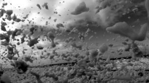 tormenta de espuma