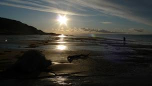 Kilmory beach