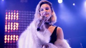 المغنية آن ماري