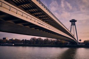 in_pictures Bridge in Bratislava
