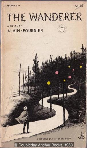 亚兰·傅尼叶的《美丽的约定》,封面设计和插图来自高栗。