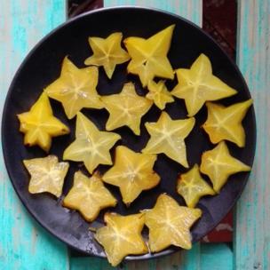 Estrellas de frutas