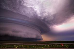 One of the storms photographed by Marko Korosec
