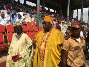 Ataoja ti Osogbo, Oba Jimoh Olanipekun ati osere Yoruba Fadeyi Oloro