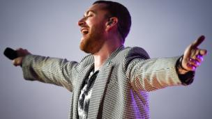 Sam Smith performs
