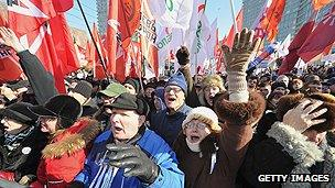 Opponents of Vladimir Putin