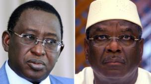 Parmi les 24 candidats, deux sont sortis du lot, le président sortant Ibrahim Boubacar Keïta et l'opposant (41,42%) et Soumaïla Cissé, chef de file de l'opposition (17,80%).