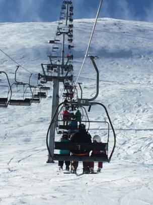 Chairlift in Glenshee