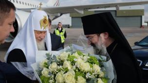 Прибытие патриарха в Лондон