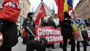 Мітинг у Мюнхені