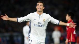 Ronaldo yana murza-leda a Real Madrid