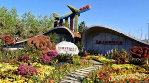 चीन का डेक्सिंग एयरपोर्ट