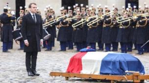 Prancis, Emmanuel Macron, Arnaud Beltrame