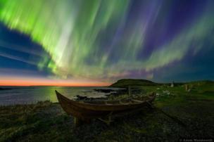 """Luces vikingas"" / Imagen de Adam Woodworth"