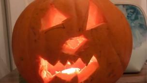 Kaiden's pumpkin