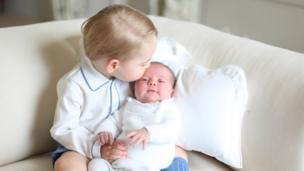 喬治小王子和夏洛特公主