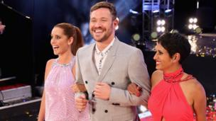 Louise Redknapp, Will Young and Naga Munchetty