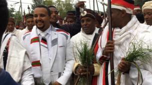 Abbootii gadaa fi daarektara OMN obbo Jawaar Mohaammad