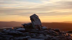 Sunrise on Pen y Fan in the Brecon Beacons