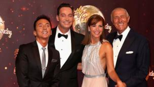 Bruno Tonioli, Craig Revel Horwood, Darcey Bussell and Len Goodman