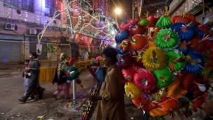 جشن تولد پیامبر اسلام در کراچی پاکستان