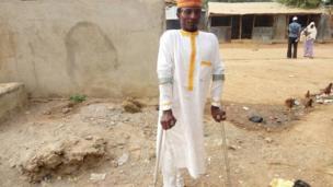Matashin ya lashi takobin hana masu nakasa bara a Abuja