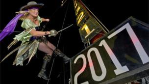 फ़्लोरिडा में नया साल