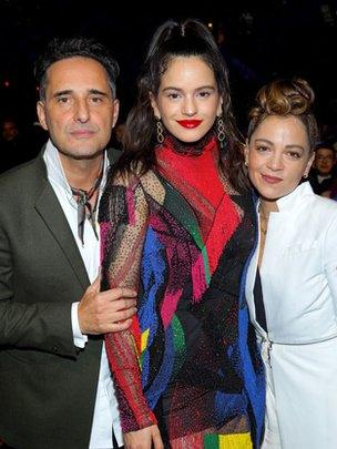 Jorge Drexler, Rosalia y Natalia Lafourcade