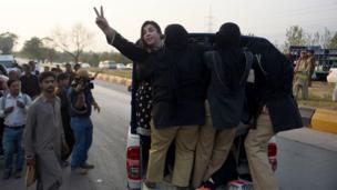 تحریک انصاف کا احتجاج