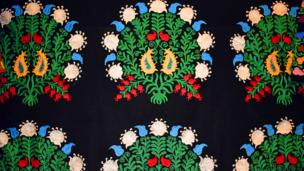 Таджикский национальный орнамент