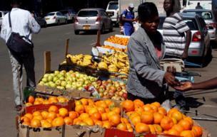 بائع فاكهة