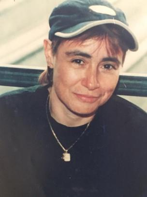 Marta Álvarez en la cárcel de Bogotá en 2000.