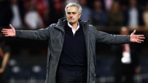 José Mourinho, entraineur portugais du Manchester United, est poursuivi pour fraudes fiscales.