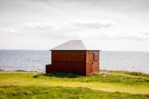 Hut on Portland Bill
