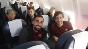 Barcelona ta doke Roma da ci 4-1 a karawarsu ta farko