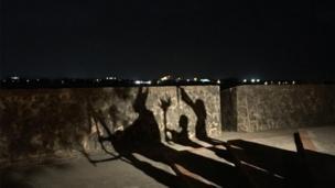 """Foto de un lector de BBC Mundo por el tema """"Sombras"""""""