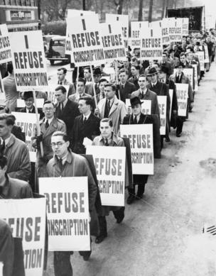 Anti-conscription march (1939)