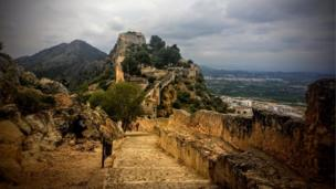 Castle of Xativa, Spain