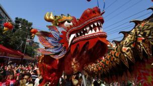 Celebrations in Yangon , Myanmar