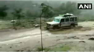 जम्मू-कश्मीर बारिश