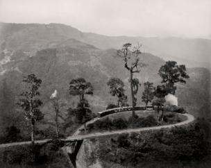 Darjeeling, The loop on the Darjeeling Himalayan Railway, c. 1880 Courtesy MAP / Tasveer