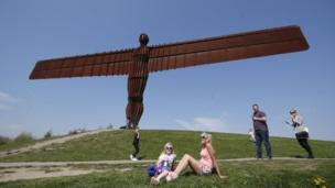Angel of the North sculpture